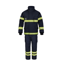 2019 new custom design CE certified  Nomex suits for fire fighters