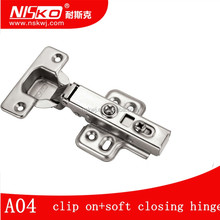 35mm clip on soft closing 110 degree hot sell kitchen cabinet door hinge for wardrobe