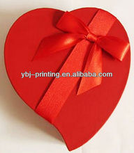 heart shape wedding gift box