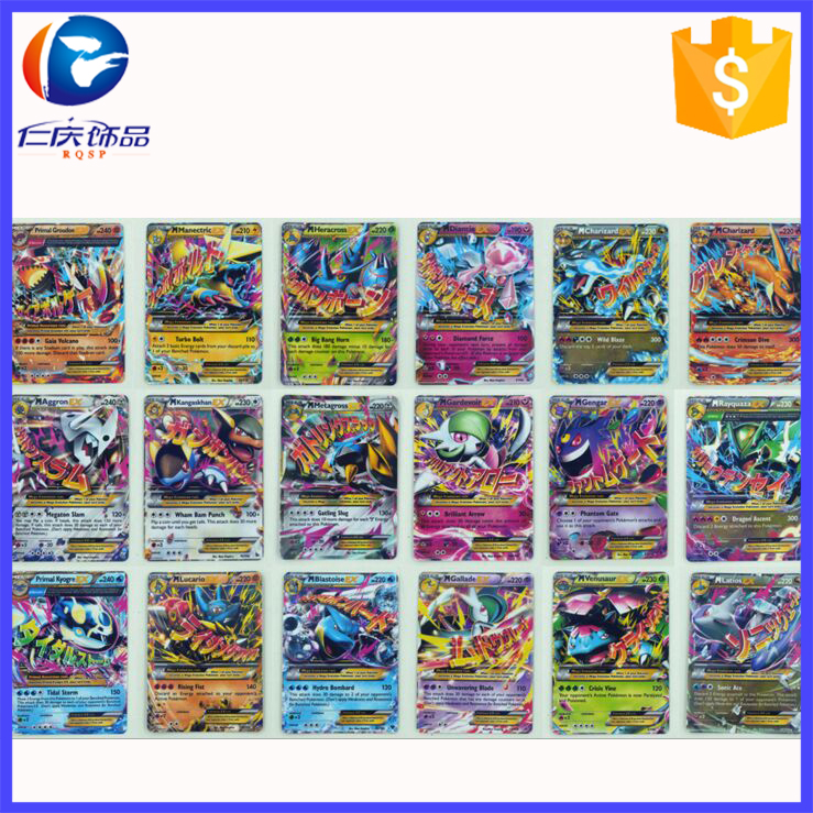 Hot Factory Custom Printing New English Pokemon Playing <strong>Cards</strong>