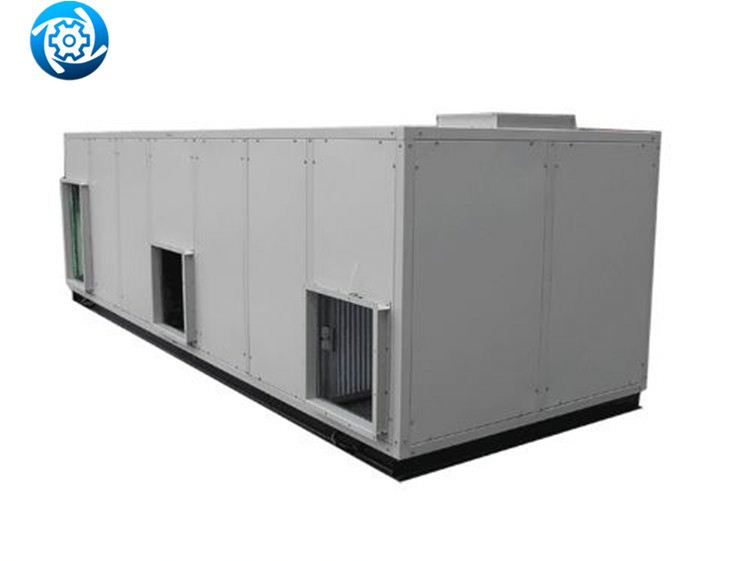 Industrial central air handling unit AHU with VFD blower