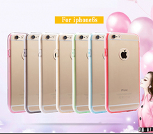 PC+TPU full protective phone case for Iphone 6 plus