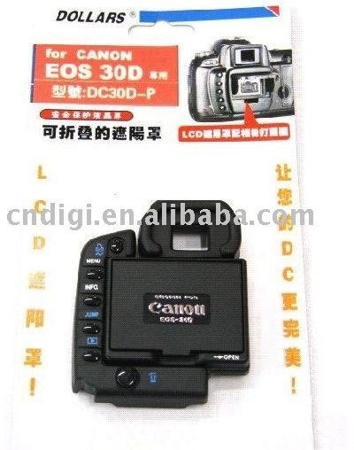 Hot Sell DOLLARS LCD Hood For Canon EOS 30D Digital Camera
