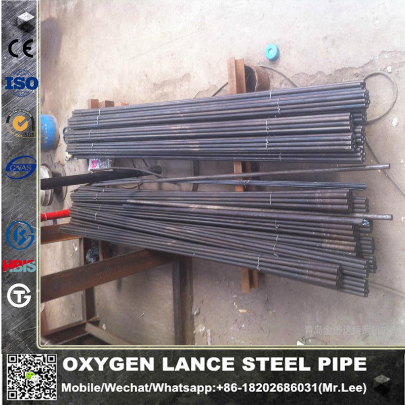 <strong>Q195</strong> Q235 Oxygen Lancing pipe factory