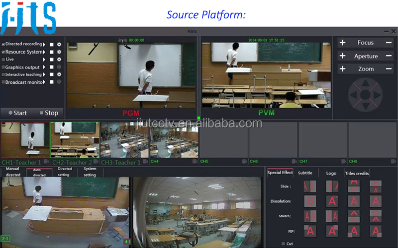 Multi-point Interactive Recording System for primary school education