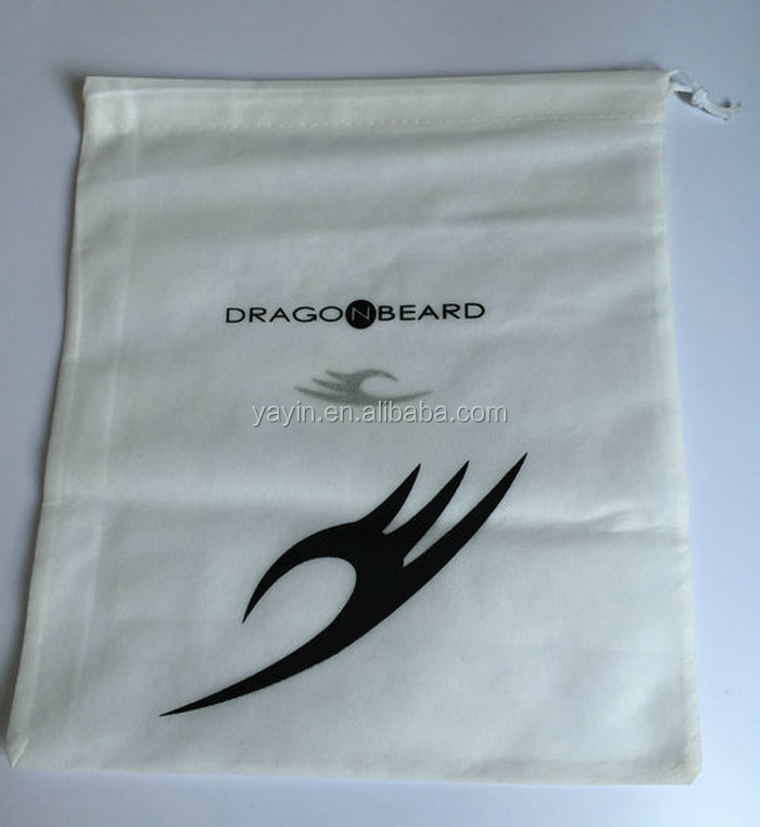 Y0004 Wholesale Customized Italian Matching Non Woven Drawstring Shoe Bag