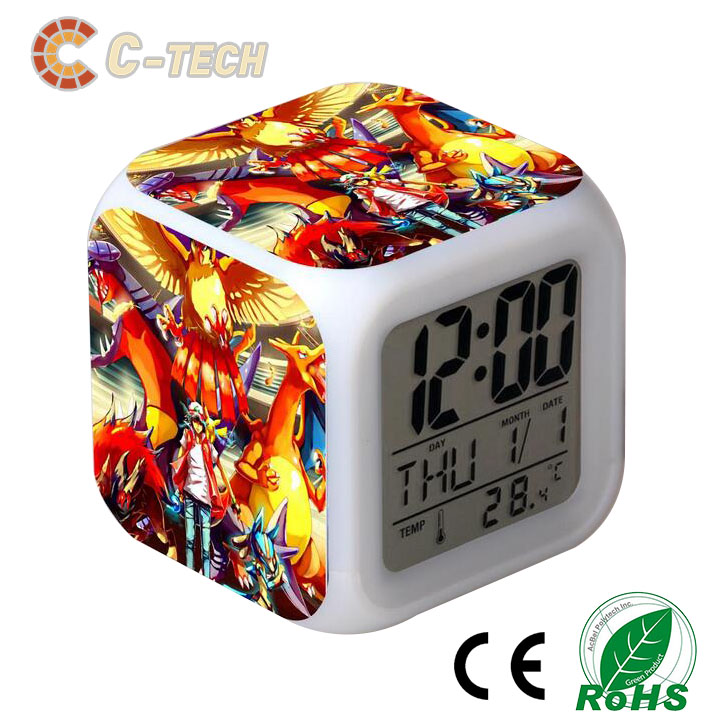 Hot Promotion kids Digital alarm clock from C-tech Company