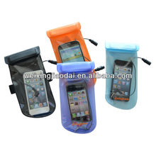 TPU waterproof dry bag for iphone 5 four colors