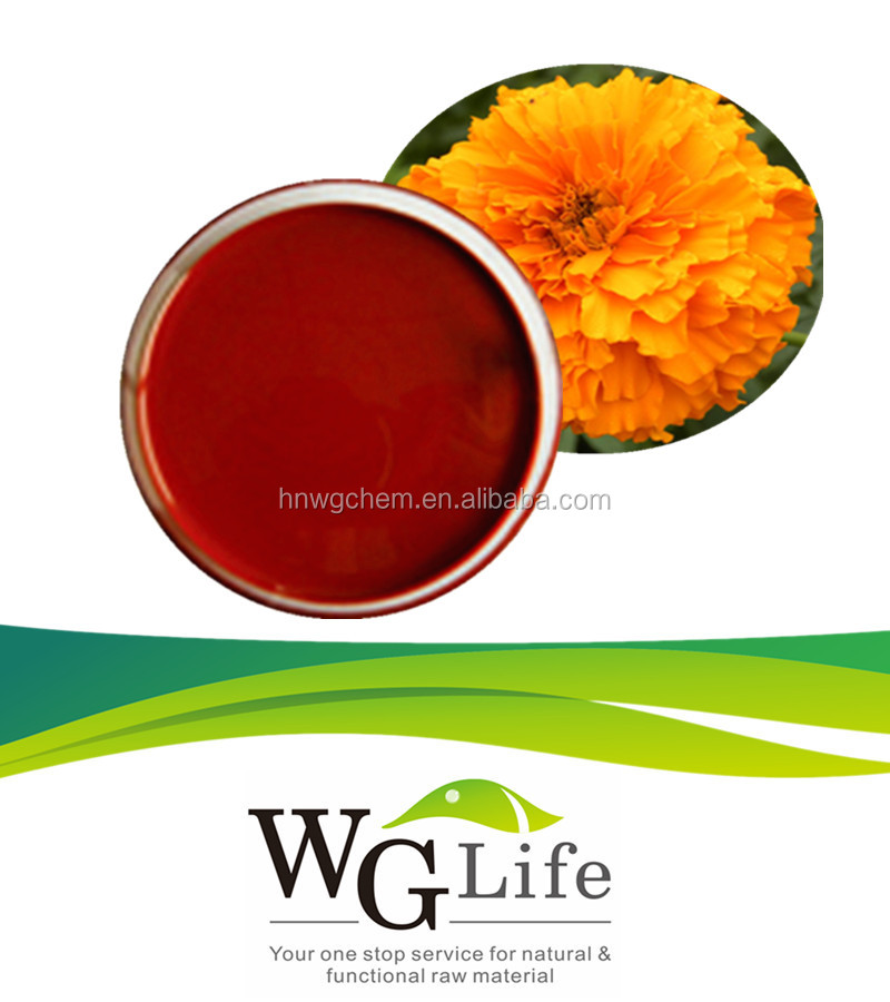 Natural Plant Herbal Extract Marigold Oil Lutein Esters oil 15%, 20%, 30%