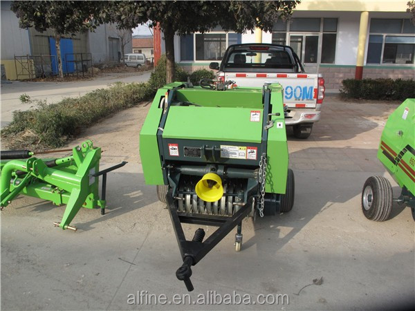 Alibaba wholesale high efficiency mini round baler price