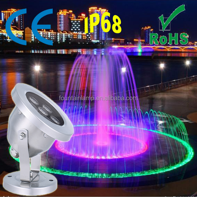 18W 12V led water light led pool light for fountains