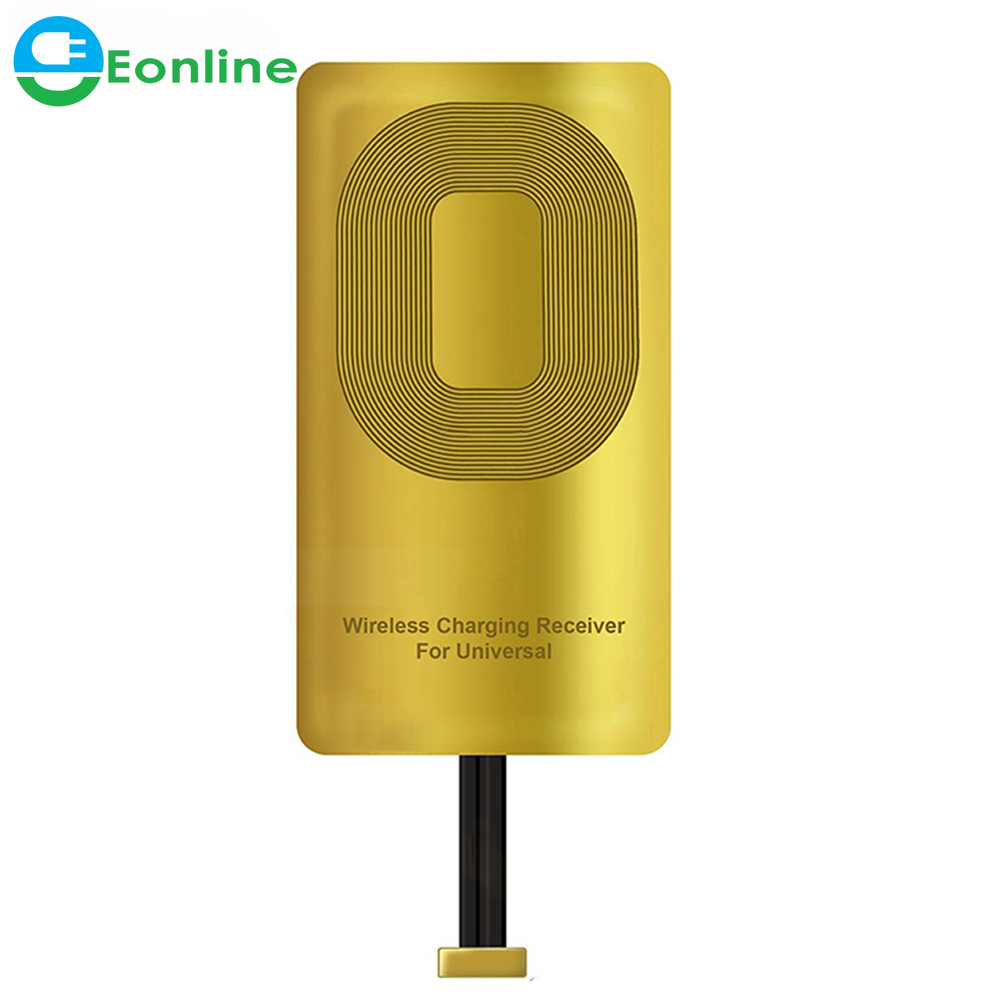Wireless Charger Receiver Applies To QI Standard Transmitter For Phone Compatible With 8 Pin + Type <strong>C</strong> +Micro USB