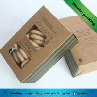 High quality cookies kraft paper box in packaging boxes