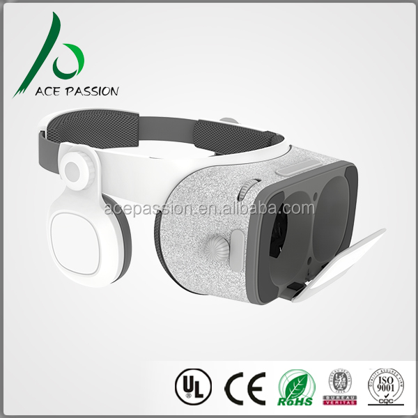 Hot folding high quality vr google 3d VR glasses 2017