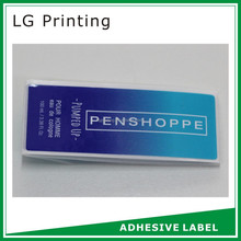 New design waterproof adhesive labels for plastic bottles with faster delivery