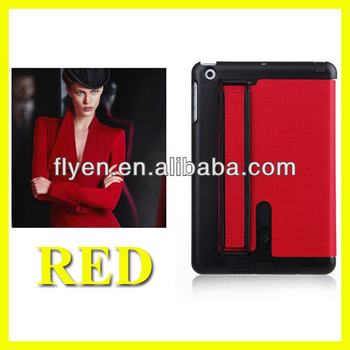 For Apple iPad Mini 1/2 Amplifying device hotsale Magnetic PU Leather Folio Stand smart Case Cover