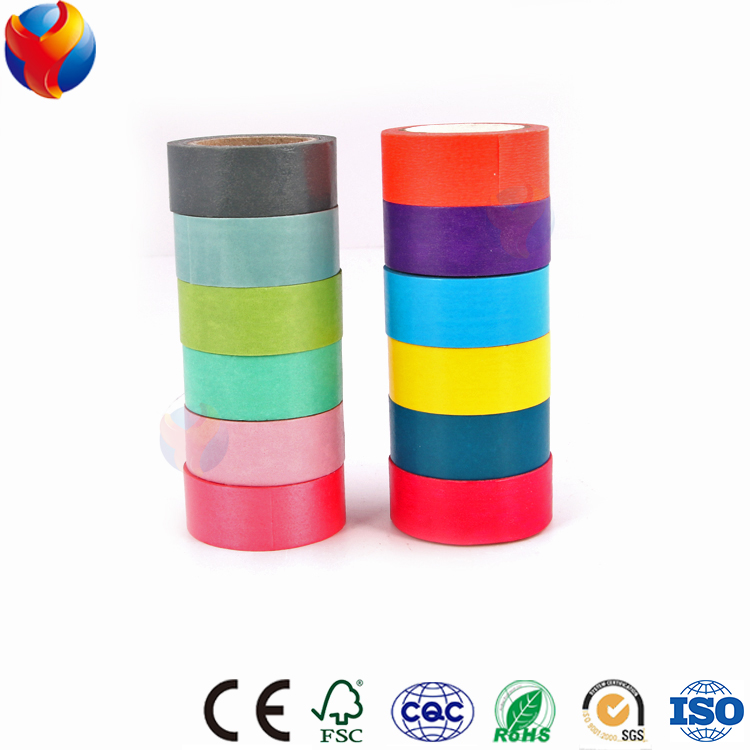 YEDDA brand yiwu online wholesale price cheap sample free duct print washi paper masking tape custom