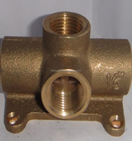 Brass straight type fittings