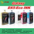 Original dx5 eco ink /eco solvent ink for dx5 head /dx5 head galaxy eco ink