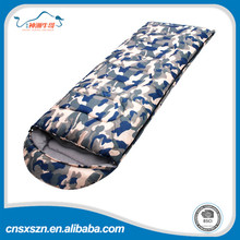 BSCI certificate China factory polyester promotional camping army sleeping bag