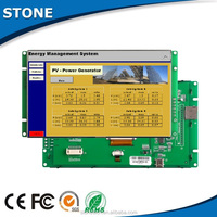 Smart Solution! 5.6 inch TFT LCD Module+Touch screen+TFT+Mother Board integrated with CPU/driver, support RS232/RS485/TTL port