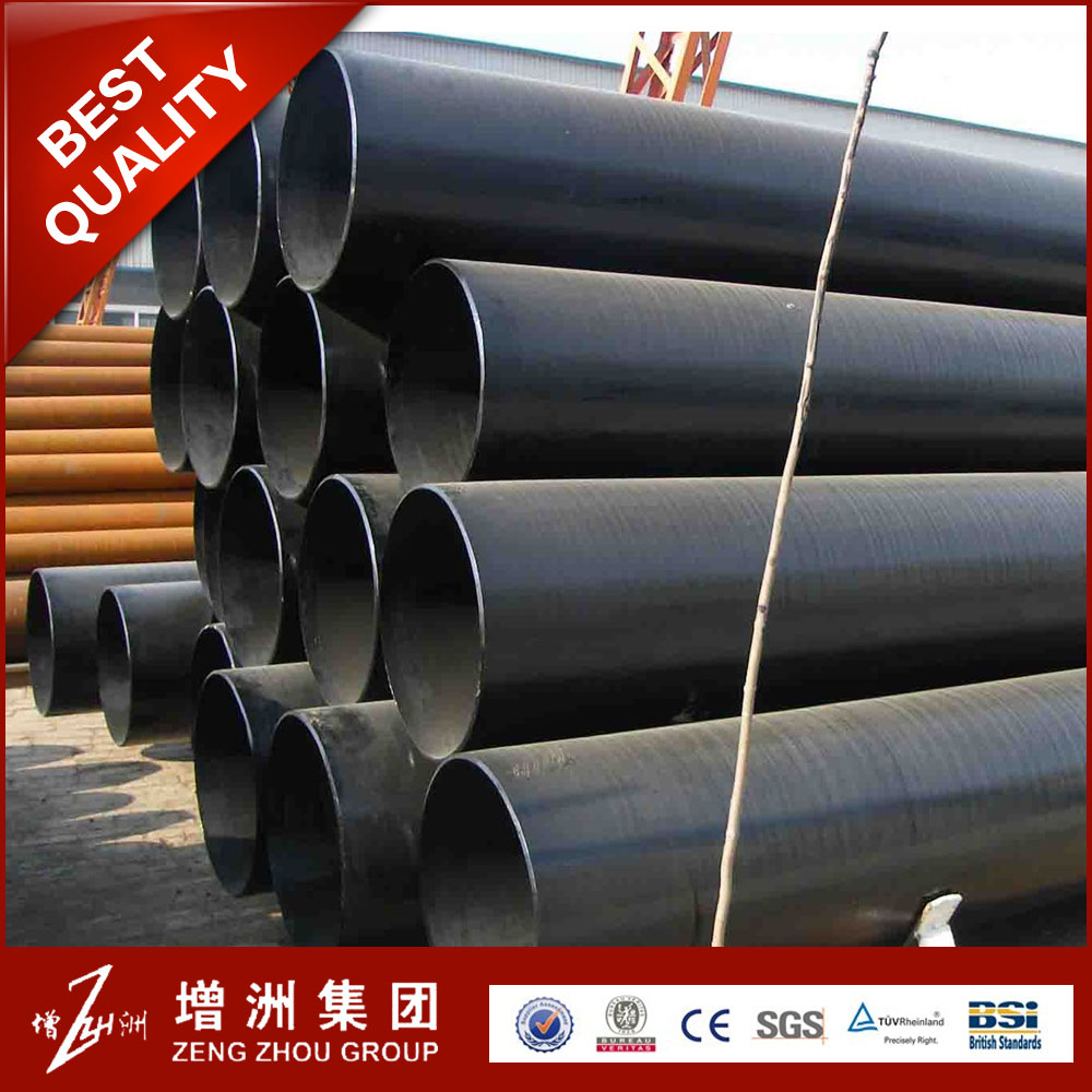 Professional welded steel pipe for gas and oil line with CE certificate