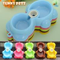 Plastic Pet Bowl Dual Use Food Water Mixing Bowl