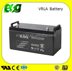 Deep Cycle Solar Battery 12v 120ah Gel battery