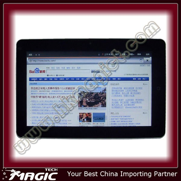 10 inch Google Android Tablet pc GPS RJ45 3G