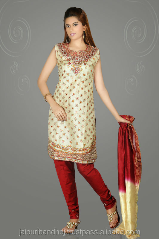 New Anarkali Style Designer Indian Heavy Salwar Kameez Suits Design 2013