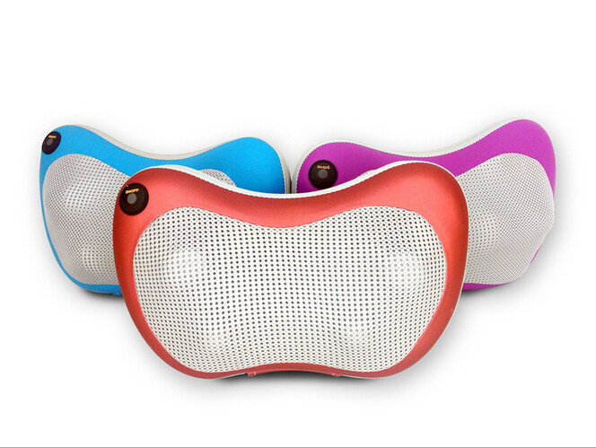 Mini Back and Neck Massager Shiatsu Kneading Massage Pillow