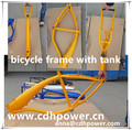 2.4L colorful gas tank bicycles frame / red colr frame
