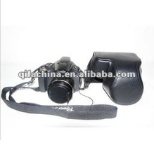 Cheap PU Leather Camera Bag For Canon Powershot SX30 SX40 SX50