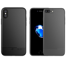 Bulk Carbon Fiber TPU Cell Phone Protector Case for Adroid Phone and Iphone