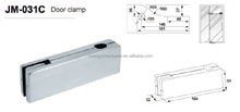 Stainless Steel Jiamey hardware door clamp/patch fitting for glass door JM-031C