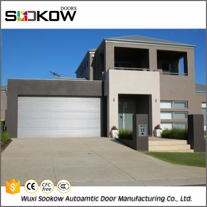 advanced and stable good looking aluminum automatic folding garage doors