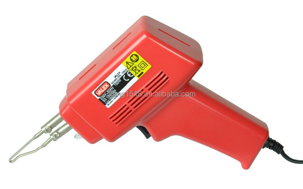 popular in Italy BMC and blister card packing industrial tool gun for soldering plastic LF-ZD7701