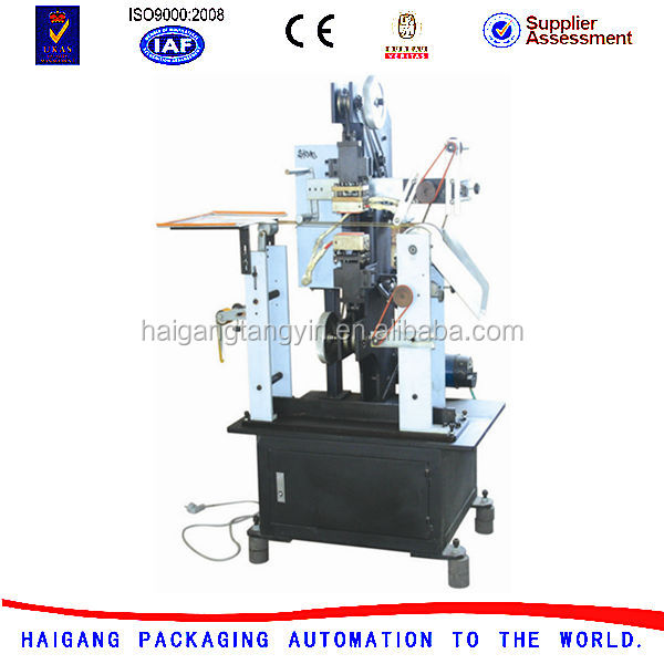 Hot Foil Stamping Machine for Plastic Hangtags with line (double side)
