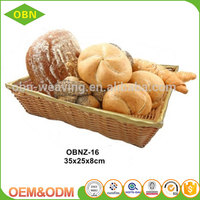 China manufacture wholesale 2.5mm cheap colored plastic rising heated wicker bread basket