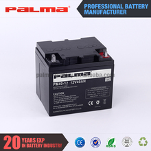 Professional supplier vrla battery 12v 40ah