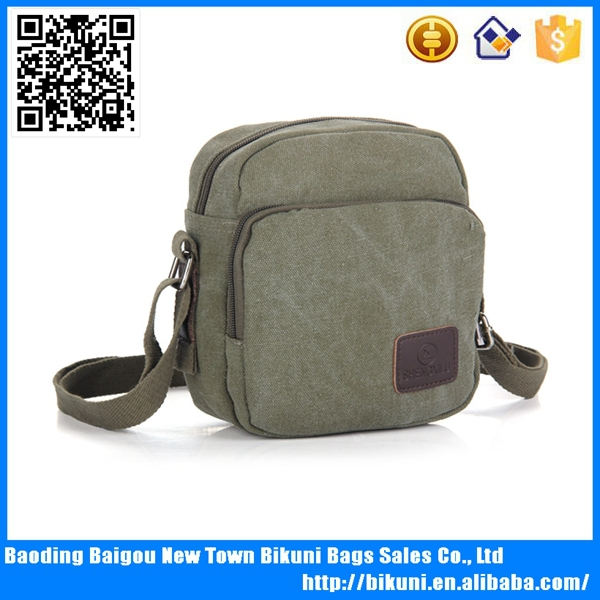 Top quality hydration canvas messenger bag man <strong>shoulder</strong>