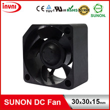 SUNON 12V DC Brushless Axial Flow Small Cooling Fan 30*30*15 30x30x15 mm 30x30x15mm (MF30151V2-10000-A99)