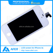Top quality mobile phone lcd for iphone 4s for iphone 4s lcd screen and digitizer assembly
