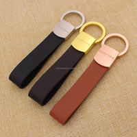 Factory direct genuine leather PU leather key chain wholesale