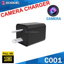 8GB 16GB 32GB 1080P AC Power Plug Wireless Camera New Motion Detection peephole Spy Charger Camera