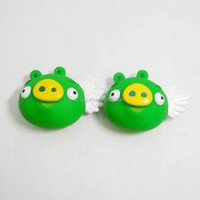 Little Green Pig Shape Children Cartoon Figures Toy Plastic Toy Wings