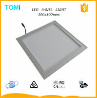 Hot sale White Frame led surface panel light 300x300 10W/12W/18W China drive over led lights
