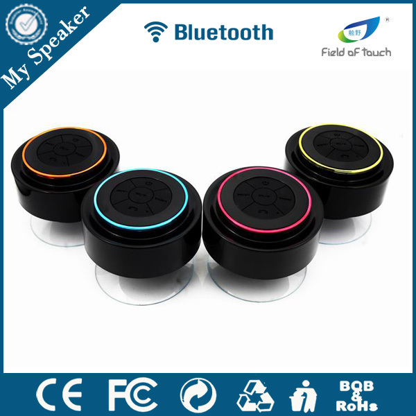 My Speaker F015 powerful 10W stereo sound waterproof shockproof bluetooth speaker with FM radio