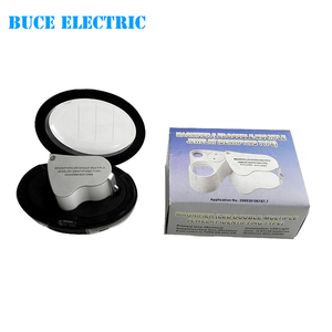 Jewelry Loupe Diamond Magnifier Magnifying Glass with Led