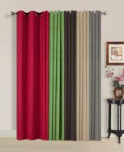100% Polyester Jacquard Foam Colors Window Curtains